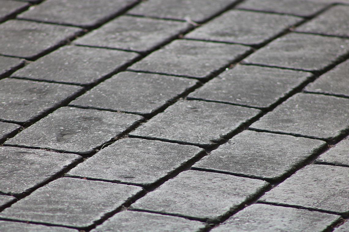 asfalto fundido impreso